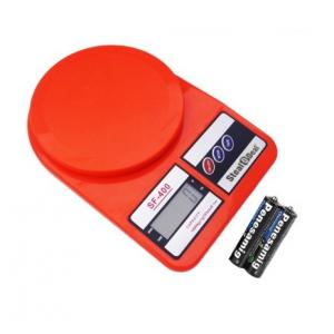 Stealodeal 10 Kg Red Electronic Kitchen Weighing Scale With Inbuilt...