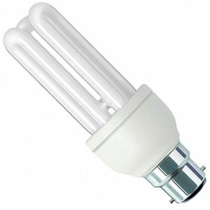 Osram DULSTAR 18W White Stick 3U B-22 CFL (Pack Of 10)