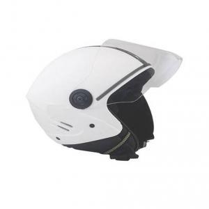 Super Add K10 Open Face White Helmet