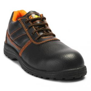 Fortune Four Seasons High Ankle Steel Toe Safety Shoes, Size: 8