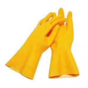 Shiva Rubber Hand Gloves, Size: 12 Inch (Pack Of 10)
