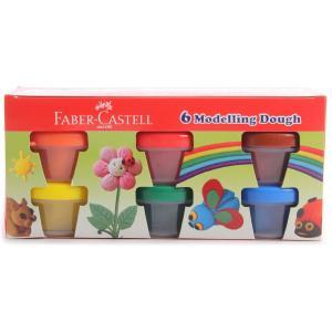 Faber Castell 6 Pieces Modelling Dough Set