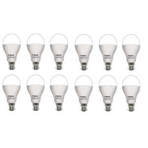 FORUS 12W White LED Bulb (Pack Of 12)
