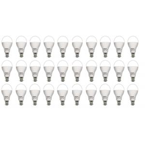 FORUS 12W White LED Bulb (Pack Of 30)