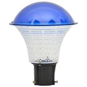 Glow Fixtures Blue Garden Light Fixture, GL1205ABD-Blue