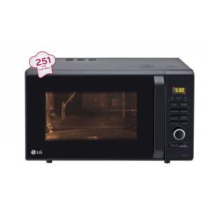 Lg 28 Litre Black Convection Microwave Oven Mc2886bfum