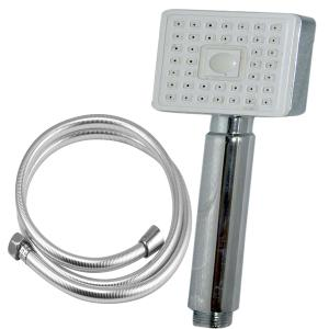 Valentino Kubix Hand Shower With 1.5 Meter PVC Tube And Wall Hook, VHS-0540-1