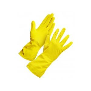 House Hold Hand Gloves For Washing Cleaning Washroom Kitchen, Size: L