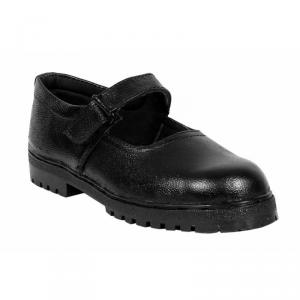 JK Steel JKPB059BLK Steel Toe Black Safety Shoes, Size: 8