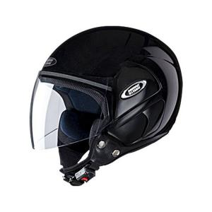 Studds Cub Black Open Face Helmet, Size: Large