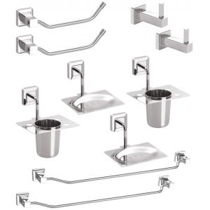 Doyours MorDuero Series Stainless Steel 5 Pieces Bathroom Accessories Set, DY-0697