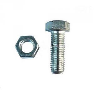 Sir-G Steel Bolts & Nuts, Size: 7 Inch (Pack Of 25)