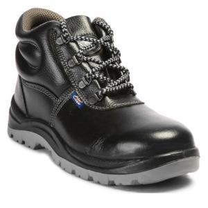 Allen Cooper AC 1008 Steel Toe Black & Grey Safety Shoes