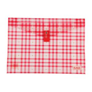 Saya Red Clear Bag Superior, Dimensions: 340 X 15 X 350 Mm, Weight:...