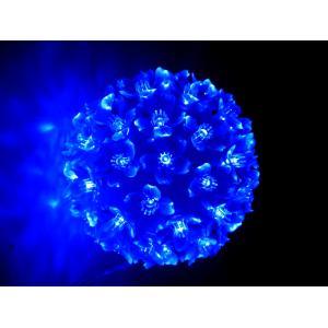 Tucasa Blue Hanging Flower Ball Light, DW-184
