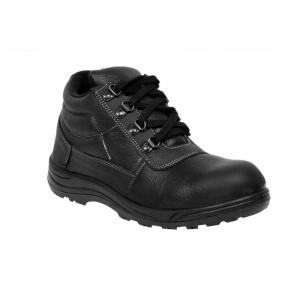 JK Steel JKPB058BLK Steel Toe Black Safety Shoes, Size: 8