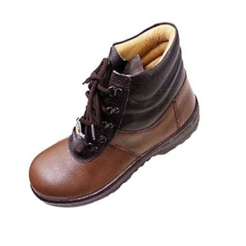 buy liberty 7198 02 warrior brown leather safety shoes