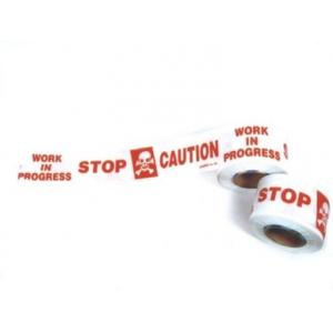 Udit 3 Inch Caution Tapes, Length: 200 Meter (Pack of 5)