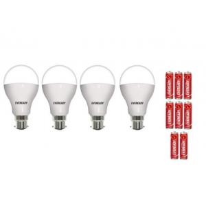 Eveready 7 W Cool Day Light Bulbs (Pack Of 4)