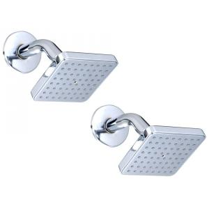 Kamal Delux Overhead Shower With Arm, OHS-0156-S2 (Pack of 2)
