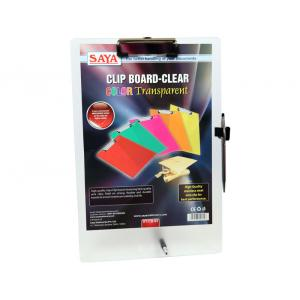 Saya Natural Clip Board Deluxe, Dimensions: 240 X 4 X 360 Mm