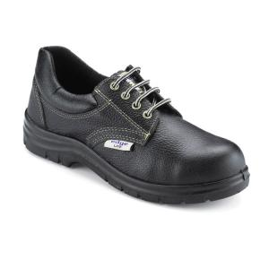 Udyogi Edge Lite Steel Toe Black Safety Shoes, Size: 9