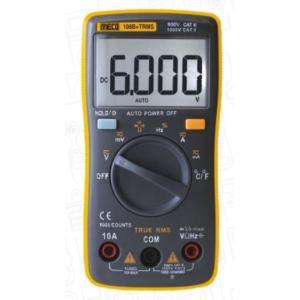 Meco 6000 Counts Autoranging Digital Multimeter, 108B+TRMS