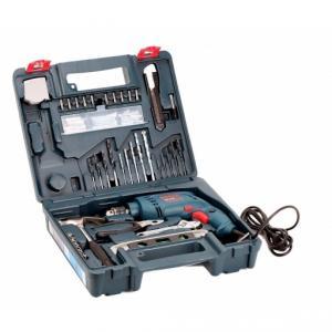 Bosch 500W Impact Drill Smart Kit, GSB 10 RE