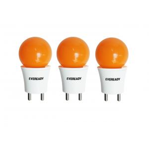 Eveready 0.5W Orange T Deco LED Plug & Play Bulbs (Pack Of 3)
