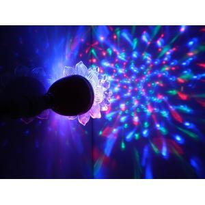 Tucasa Multi Colour Lotus Crystal Revolving Light, DW-293