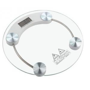 Stealodeal 150 Kg Clear Digital Personal/Bathroom Round Weighing...