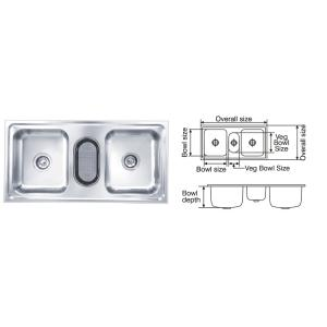 Buy nirali elegance unique glossy finish kitchen sink size nirali galaxy glossy finish kitchen sink size 1040x510 mm workwithnaturefo