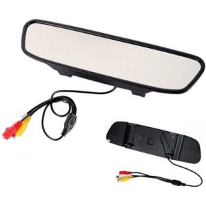 Woodman 4.3 Inch Digital Monitor For Reverse Camera Black LCD