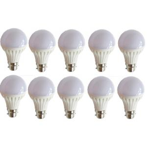 EGK 12W B-22 White LED Bulbs (Pack Of 10)