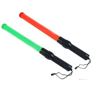 KT Red and Green Traffic Baton Rechargeable Light