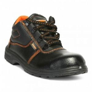Hillson Beston Steel Toe Black Safety Shoes, Size: 8