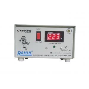 Rahul 1023 A Digital 0.5 kVA Smoke Gray Automatic Stabilizer