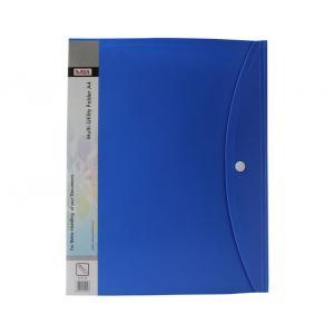 Saya Blue Multi Utility Folder, Dimensions: 250 X 20 X 315 Mm (Pack...