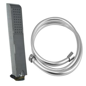 Valentino Sleek Hand Shower With 1.5 Meter PVC Tube And Wall Hook, VHS-0588-1