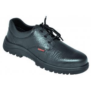 Karam FS 05 Steel Toe Black Safety Shoes, Size: 10