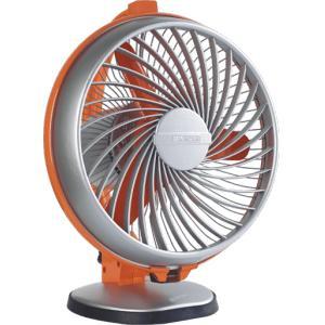 Luminous 55W Orange & Grey Buddy-Hi Speed Personal Fan, Sweep: 230 mm