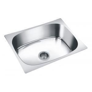 Deepali Single Bowl Kitchen Sink, DP 116B, Overall Size: 27x21 Inch