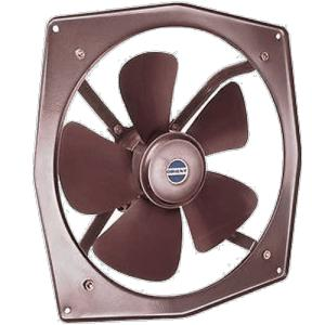 Orient Spring Air Exhaust Fan, Sweep: 225 mm, Colour: Brown