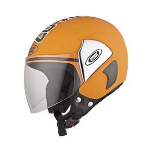 Studds Cub 07 Decor Orange Open Face Helmet, Size: Large