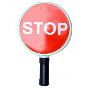 KT Red Stop Traffic Baton