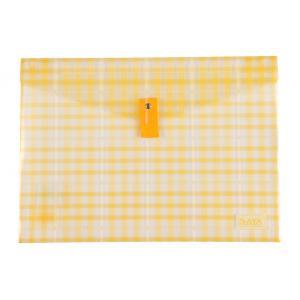 Saya Yellow Clear Bag Superior, Dimensions: 340 X 15 X 350 Mm,...