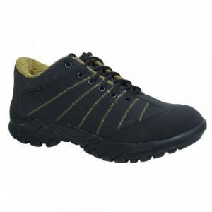 Kavacha Steel Toe Black Safety Shoes, Size: 10
