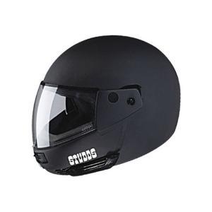 Studds Ninja Pastel Plain Flip Up Matte Black Full Face Helmet,...