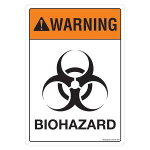 Safety Sign Store Warning: Bio Hazard Sign Board, SS125-A4AL-01