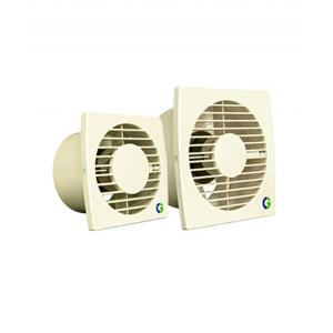 Crompton Greaves 150mm 6 Inch Brisk Air Plastic Ventilation Fans Ivory, 23W, 1300rpm